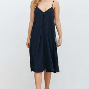 Urban Outfitters, Love is a Place Navy Dress MED